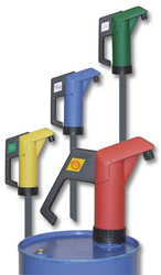 Hand operated pumps