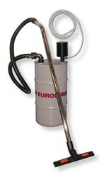 Air operated wet vacuum
