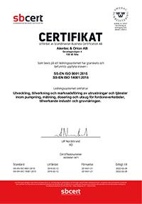ISO9001 & ISO14001